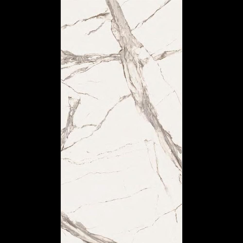 """Italian Calacatta Statuario Slab C, Matt Beige 63"""" x 126"""", 12mm"""