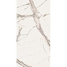 """Italian Calacatta Statuario Slab C, Beige 63"""" x 126"""", 6.5mm"""