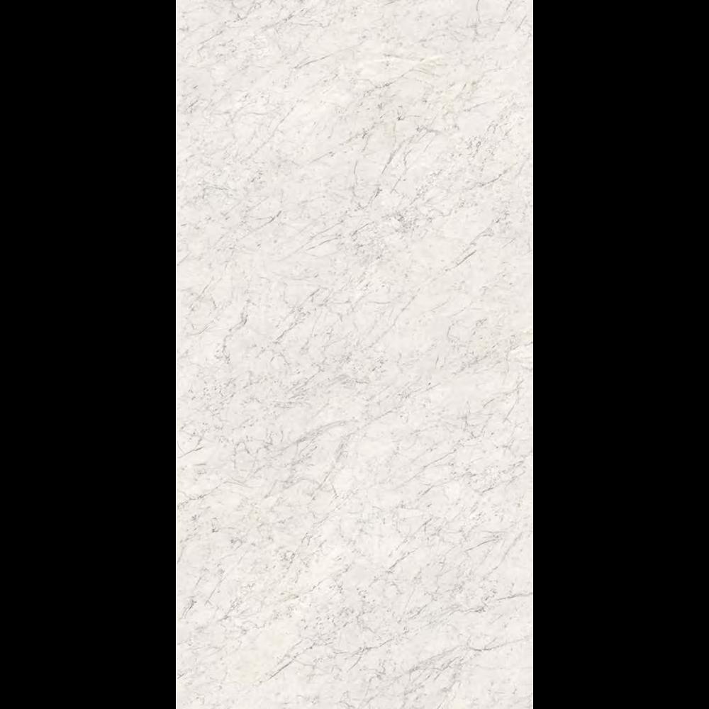 "Italian  White Carrara Slab, White 63"" x 126"", 6.5mm"