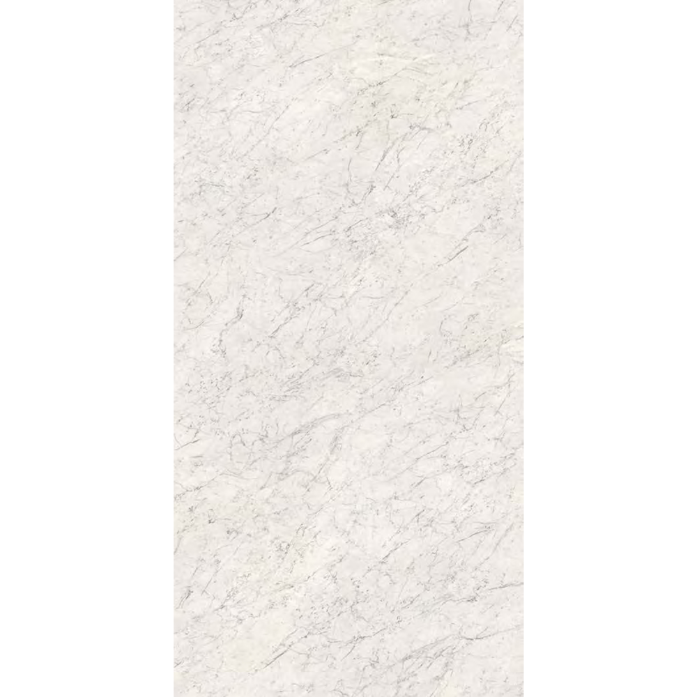 "Italian  White Carrara Slab, White 64"" x 128"", 12mm"