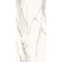 "Italian  Elegant Slab B, Nat White 63"" x 126"", 12mm"