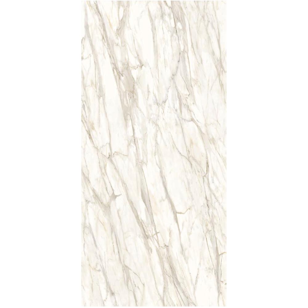 """Italian  Golden White Slab B Nat, 63"""" x 126"""", 12mm"""