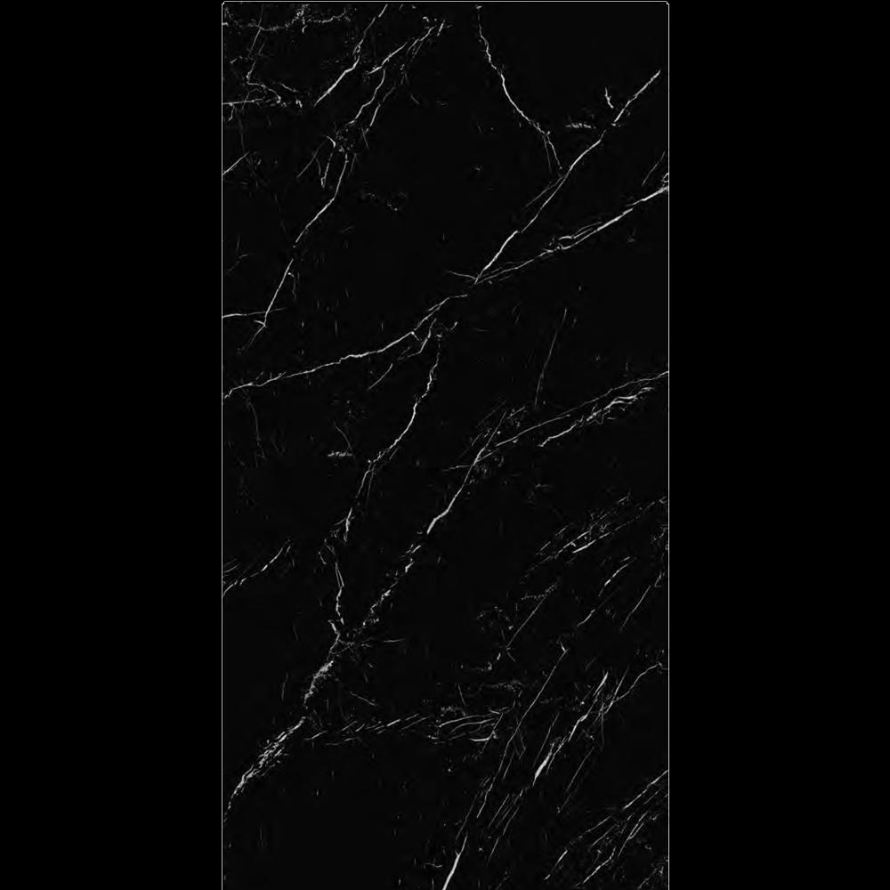 "Italian  Marquina Black Slab A Nat, 63"" x 126"", 12mm"