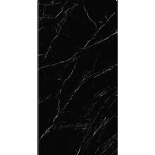 "Italian  Marquina Black Slab A , 63"" x 126"", 12mm"