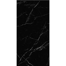 "Italian  Marquina Black Slab B Nat, 63"" x 126"", 12mm"