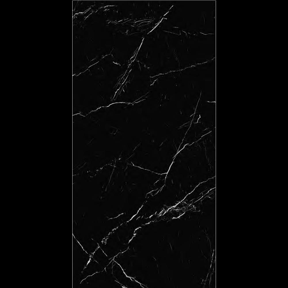 """Italian  Marquina Black Slab B , 63"""" x 126"""", 12mm"""