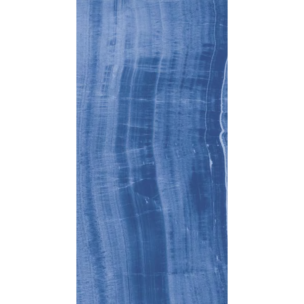"Italian  Onyx Blue Slab, 63"" x 126"", 6.5mm"