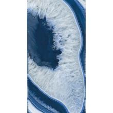 """Italian  Agate Blue Slab A, 63"""" x 126"""", 6.5mm"""
