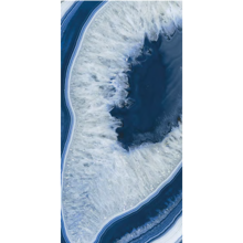 "Italian  Agate Blue Slab B, 63"" x 126"", 6.5mm"