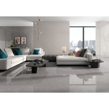 "Modern Spanish Polished Porcelain Tile 30"" x 30"", Avenue Ash"