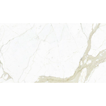 "Italian White Calacatta Slab, Bright 59"" x 118"""