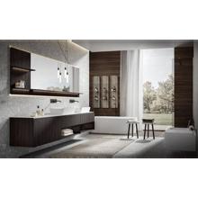 Italian Modern Bathroom Vanity Edoné Chrono