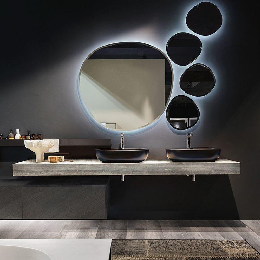 Italian Modern Bathroom Vanity Edoné Enea
