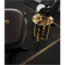 """Versace Italian Carbon Porcelain Tile 10"""" x 71"""", Eterno"""