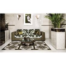 "Versace Italian Onice Bianco Porcelain Tile 8"" x 31"", Emote"