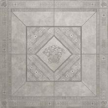 "Versace Italian Rosone Grigio Porcelain Tile 63"" x 63"", Marble"