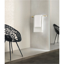 "Versace Italian Bianco Porcelain Tile 10"" x 71"", Greek"
