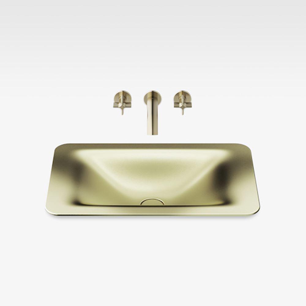 "Italian Modern Bathroom Vanity Sink, Armani 26"" Greige, SMG"