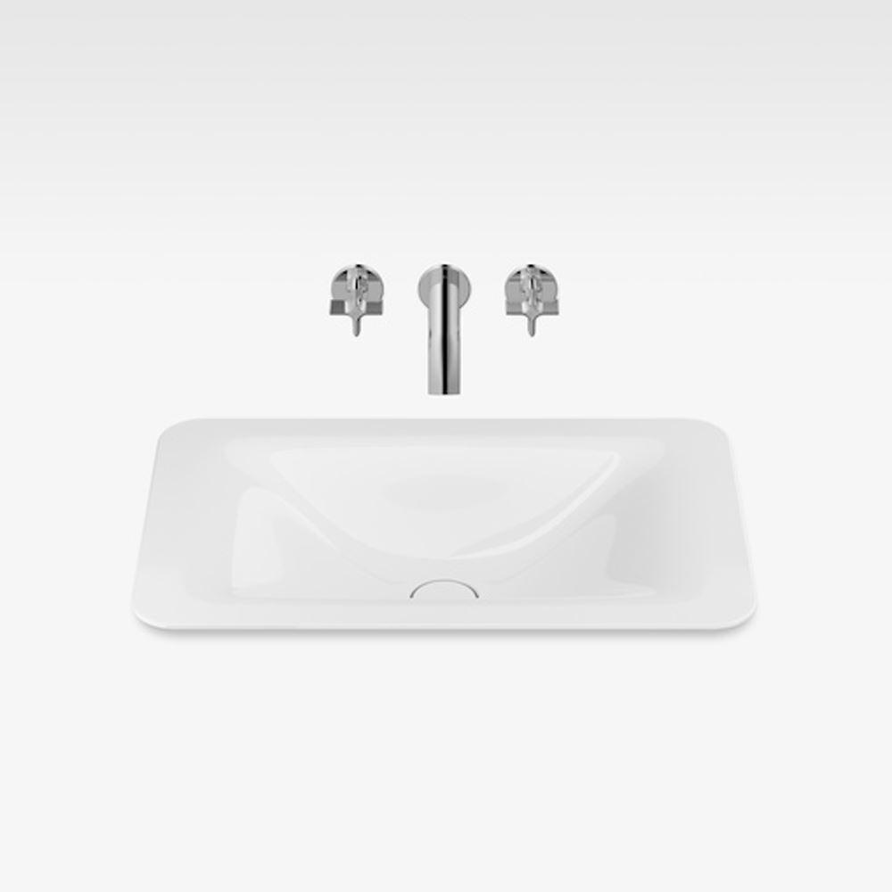 """Italian Modern Bathroom Vanity Sink, Armani 26"""" Silver, GW"""
