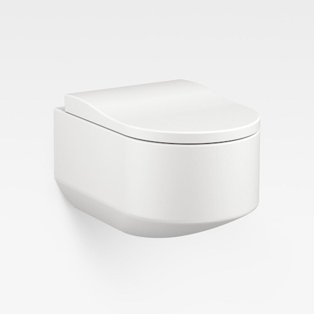 Italian Modern Wall-Hung Toilet, Armani Off-White
