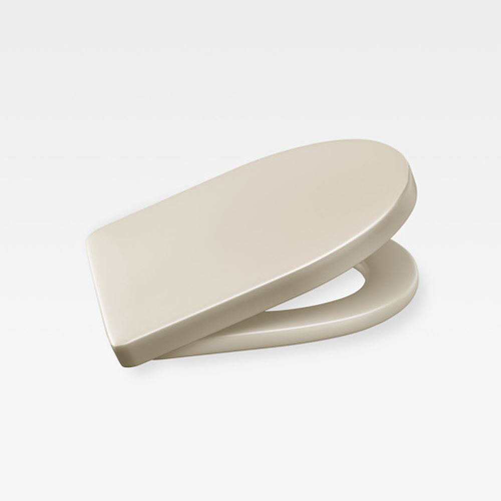 Italian Contemporary Soft-Closing Seat And Cover, Armani Greige