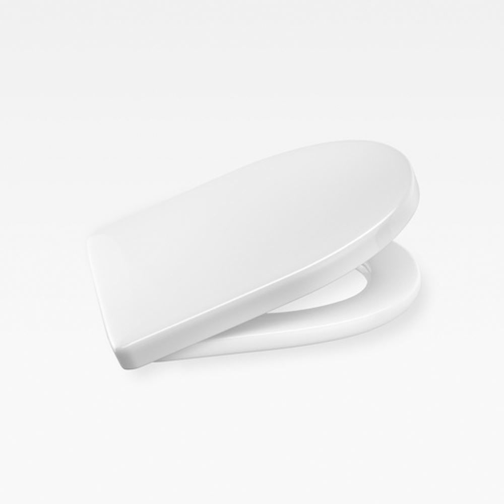 Italian Contemporary Soft-Closing Seat And Cover, Armani Glossy White
