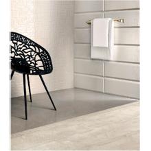 "Versace Italian Intreccio White Porcelain Tile 31"" x 31"", Eterno"