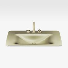 """Italian Modern Bathroom Vanity Set, Armani 48"""" Greige, SMG"""