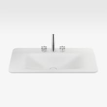 "Italian Modern Bathroom Vanity Sink And Faucet, Armani 36"" Off-White"