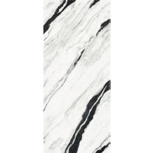 "Versace Panda White Polished Porcelain Slab A 47""x 109"", Maximvs"