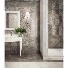 "Versace Italian Grigio Polished Porcelain Tile 23"" x 23"", Marble"