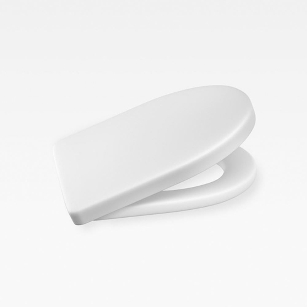 Italian Contemporary Soft-Closing Seat And Cover, Armani Off-White