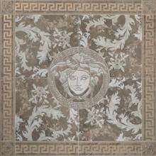 "Versace Italian Rosone Grigio Porcelain Tile 46"" x 46"", Marble"