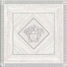 "Versace Italian Rosone Ziricote Bianco Platino Porcelain Tile 46"" x 46"", Villa"
