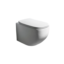 Picture of FRESCO MATT WHITE WALL HUNG TOILET, NORIM