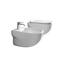 Picture of PURE GLOSSY WHITE WALL HUNG TOILET, NORIM