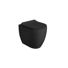 Picture of FLOAT MATT BLACK FREESTANDING TOILET, NORIM