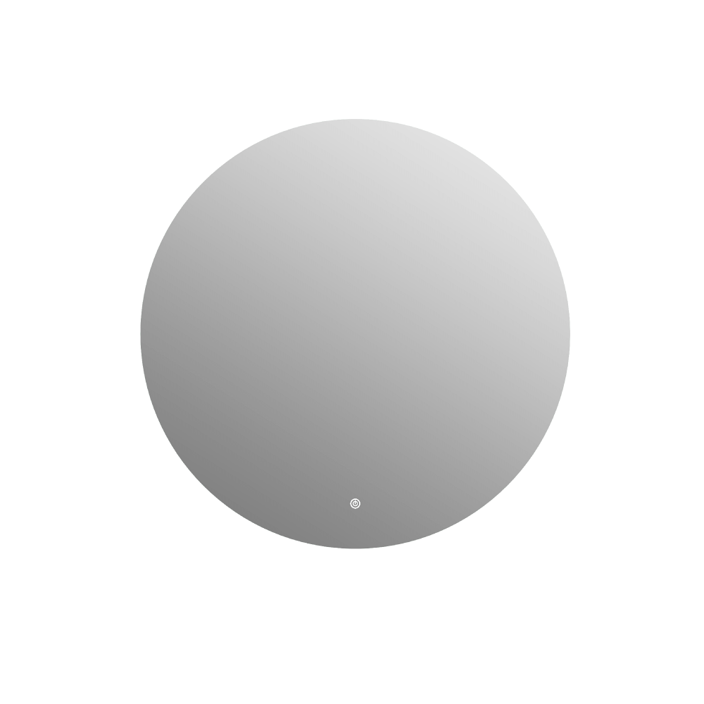 """Picture of MOON 36"""" Contemporary Round Mirror With Integrated Lighting"""