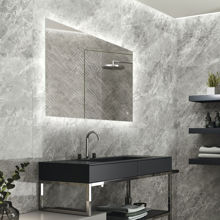 """Picture of AVENUE 48"""" Rectangular Mirror With Integrated Lighting"""